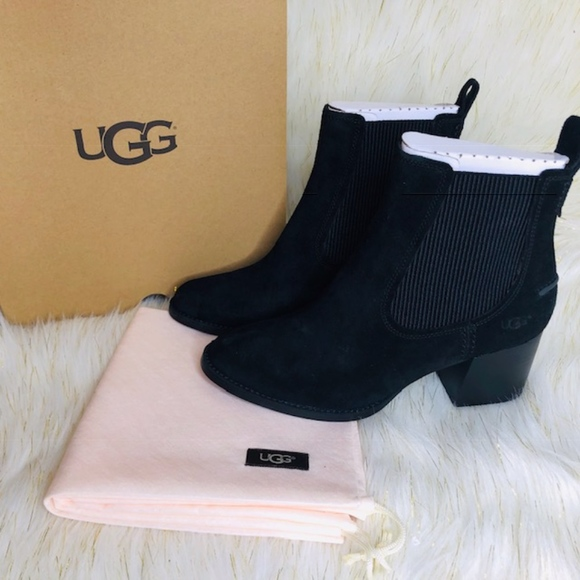 81248041af7 UGG Faye Leather Boots Size 9 NWT